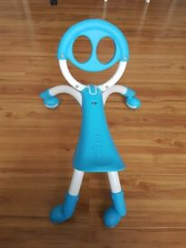 Ybike Pewi blue ride on walker toy