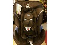 Mamas and papas black cybex car seat barely used