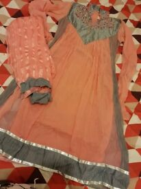 Anarkali long dress party wear