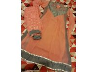 Anarkali long dress party wear