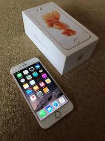 *MINT* iPhone 6S 64GB Rose Gold *Boxed*