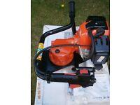Silverline Petrol Auger 49cc Engine c/w Auger Bit 150mm x 800mm
