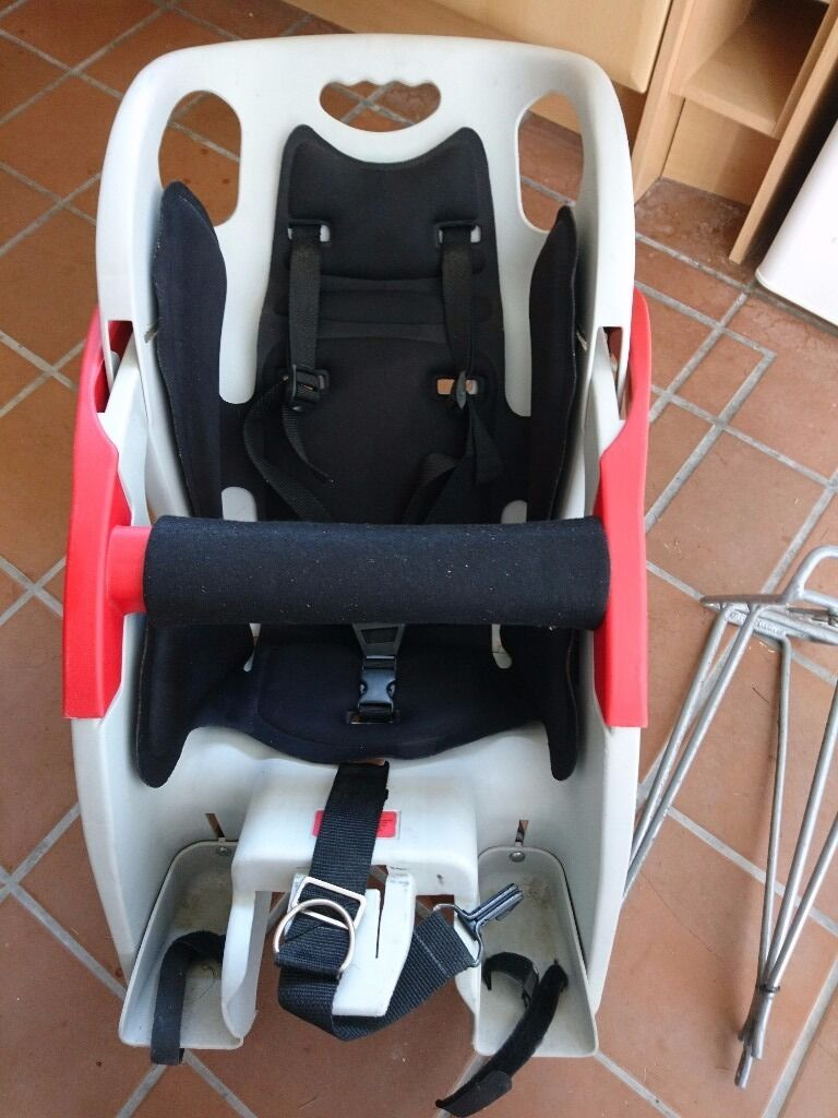 CoPilot Bicycle Child Seat with optional bike rack