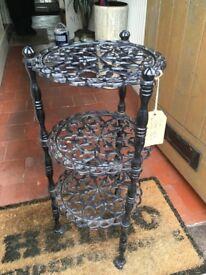 Beautiful decorative solid cast iron saucepan stand
