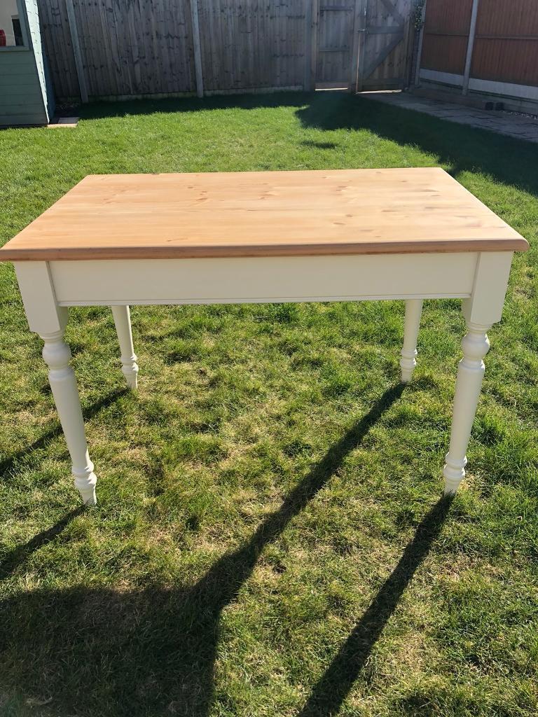 small pine farmhouse table desk in bournemouth dorset gumtree