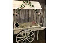 Traditional style Candy Cart for hire