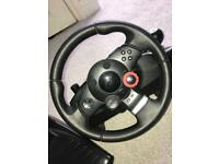 PlayStation and Pc Steering Wheel