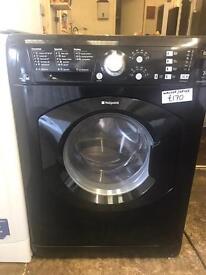 BLACK WASHING MACHINES STARTING £120