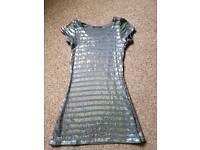 Ladies vera moda sparkly dress size small