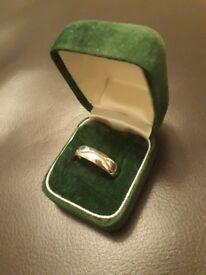 Certified Gents Platinum Wedding Ring