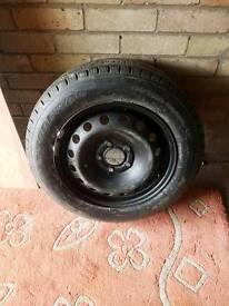 Vivaro Van tyre &wheel