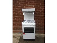 Gas Cooker, 2yr old 55cm wide with eye level grill. Immaculate condition .