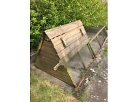 Large chicken coop and run only £75 bargain