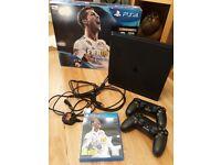PS4 (Sony Playstation) Fifa 18 bundle