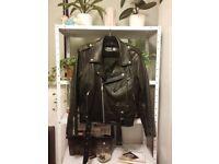 Real leather BikerJacket
