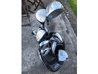 Righ handed adult Imtech golf clubs