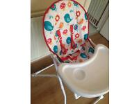 High chair for baby used good condition £8.00 pick up only