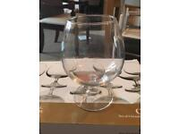 *taken* Set of 6 Maxwell & Williams Cuveé Brandy glasses