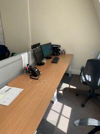 4 x office desks for sale