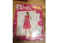 Barbie princess costume dress age 3-5 years. Brand new in sealed packaging