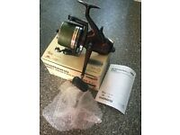Shimano Big Baitrunner boxed with braid carp fishing