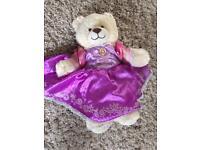 Build a bear with rapunzel dress