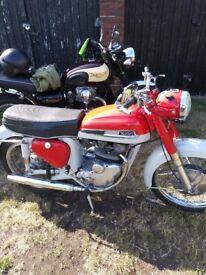 Classic motorbike norton navigator