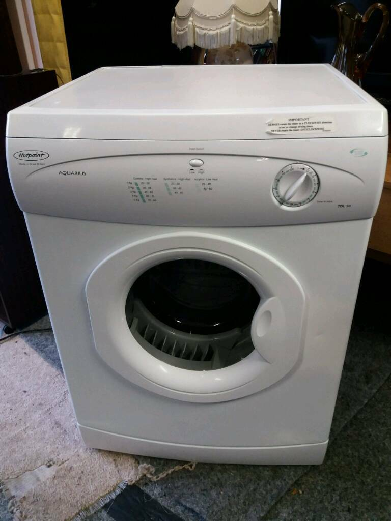 Hotpoint vented dryer 6kg