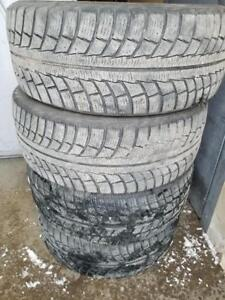 4 PNEUS HIVER GISLAVED 235 55 17  - 4 WINTER TIRES