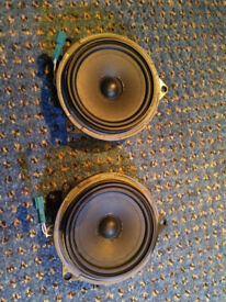 BMW 1 Series Geniune OEM Rear Speakers