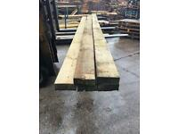 Reclaimed timber, wooden planks, 6x2, 12ft long