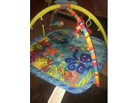 Play mats with toys attached each £4