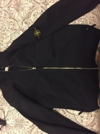 Original stone island Teflon jacket, cost new £395, worn once, immaculate, size xxl, in navy