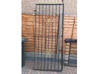 Heavy duty iron gates