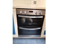Zanussi Compact Electric Double Oven