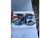 BMX old school pedals