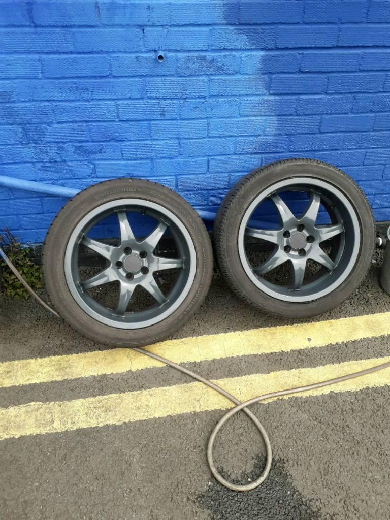 vw golf Audi seat alloy wheels