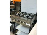COOKER 4 BURNERS COMMERCIAL EXTRA SLIM