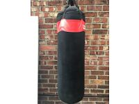 Locus Punch bag with Gloves