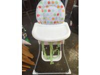 Mama and papas high chair £30