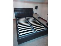 Double bed ottoman storage
