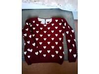 Love heart jumper (Quiz)