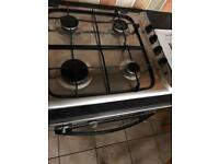 Indesit gas hob cooker four burner