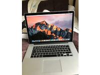 """Macbook pro new 15"""" i7 256ssd 16gb ram £1250"""