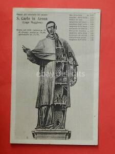Saluti-da-ARONA-SAN-CARLO-statua-Lago-maggiore-Novara-vecchia-cartolina