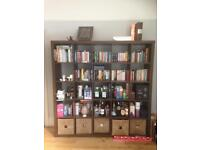 Ikea Expedit bookcase 5 by 5 unit (dark brown)