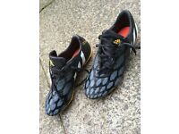 Football boots. Moulded studs. Size 9