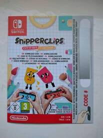 Snipperclips Nintendo switch download code