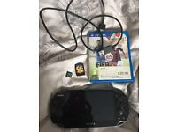 Ps Vita, 2 games and memory card