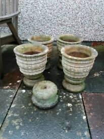 Set of Garden Planters